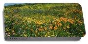 California Poppies Eschscholzia Portable Battery Charger