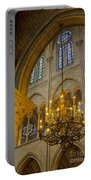 Cathedral Notre Dame Portable Battery Charger
