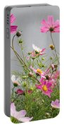 Close-up Of Flowers Portable Battery Charger