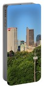 Columbus Ohio Skyline Photo Portable Battery Charger
