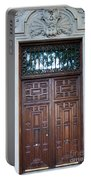 Distinctive Doors In Madrid Spain Portable Battery Charger