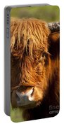 Highland Cow Portable Battery Charger by Brian Jannsen
