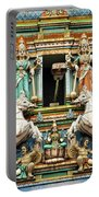 Hindu Temple With Indian Gods Kuala Lumpur Malaysia Portable Battery Charger