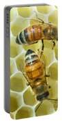 Honey Bees In Hive Portable Battery Charger