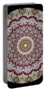 Kaleidoscope Colorful Jeweled Rhinestones Portable Battery Charger