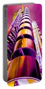 Lloyd's Building London Art Portable Battery Charger