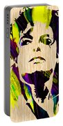 Michael Jackson Painting Portable Battery Charger