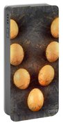 Organic Eggs Portable Battery Charger by George Atsametakis