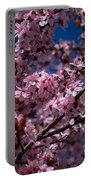 Plum Tree Flowers Portable Battery Charger