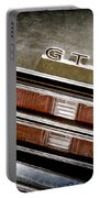 1969 Pontiac Gto Taillight Emblem -0475a Portable Battery Charger