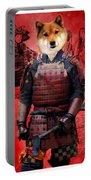 Shiba Inu Art Canvas Print Portable Battery Charger