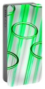 Test Tubes In Science Research Lab Portable Battery Charger