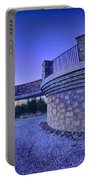 Top Of Mount Mitchell Before Sunset Portable Battery Charger