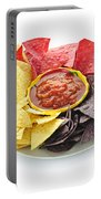 Tortilla Chips And Salsa Portable Battery Charger