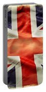 Union Jack  Portable Battery Charger by Les Cunliffe