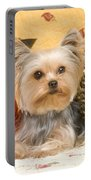 Yorkshire Terrier Dog Portable Battery Charger