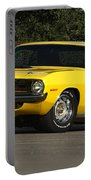'70 Hemi 'cuda Portable Battery Charger