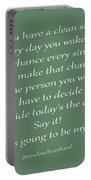 79- Brendon Burchard  Portable Battery Charger