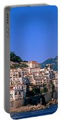 Amalfi Town In Italy Portable Battery Charger by George Atsametakis
