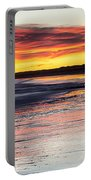 Bamburgh Castle At Sunrise Portable Battery Charger