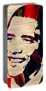 Barack Obama Portable Battery Charger by Marvin Blaine