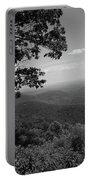 Blue Ridge Mountains - Virginia Bw Portable Battery Charger