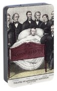 Death Of Lincoln, 1865 Portable Battery Charger