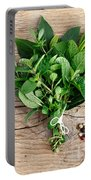 Kitchen Herbs Portable Battery Charger