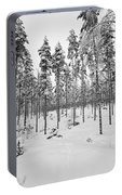 Pine Forest Winter Portable Battery Charger