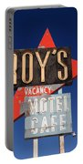 Route 66 - Roy's Of Amboy California Portable Battery Charger