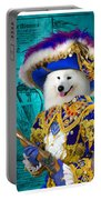 Samoyed Art Canvas Print Portable Battery Charger