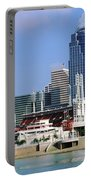 Skyscrapers In A City, Cincinnati Portable Battery Charger