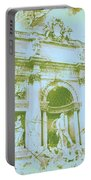 Trevi Fountain Landscape Portable Battery Charger