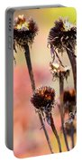 Wilted Flower  Portable Battery Charger