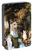 Italian Greyhound Art Canvas Print  Portable Battery Charger