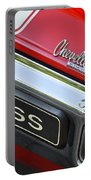 1970 Chevrolet Chevelle Ss Taillight Emblem Portable Battery Charger