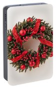 Advent Christmas Wreath  Portable Battery Charger