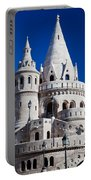 Fisherman's Bastion In Budapest Portable Battery Charger
