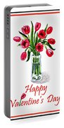Happy Valentines Day Portable Battery Charger