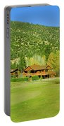 9-hole Golf Course In Autumn At Pine Portable Battery Charger