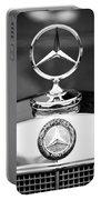 Mercedes-benz Hood Ornament Portable Battery Charger