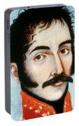 Simon Bolivar (1783-1830) Portable Battery Charger