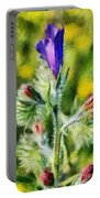 Spring Wild Flower Portable Battery Charger