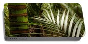 Tropical Forest Portable Battery Charger