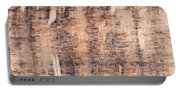 Wood Background Portable Battery Charger