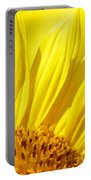 #923 D718 You Are My Sunshine. Sunflower On Colby Farm Portable Battery Charger
