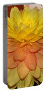 #928 D801 Dahlia Orange Yellow Pink Green Portable Battery Charger