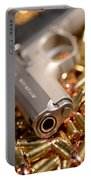 9mm Sw With Brass Portable Battery Charger