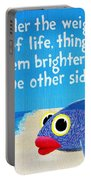 9x12 Dmb Big Eyed Fish Portable Battery Charger