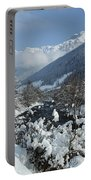A Beautiful Winterday - Austrian Alps Portable Battery Charger